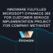 Innoware fulfilled Microsoft Dynamics 365 for Customer Service implementation project for leading metallurgy company Metinvest