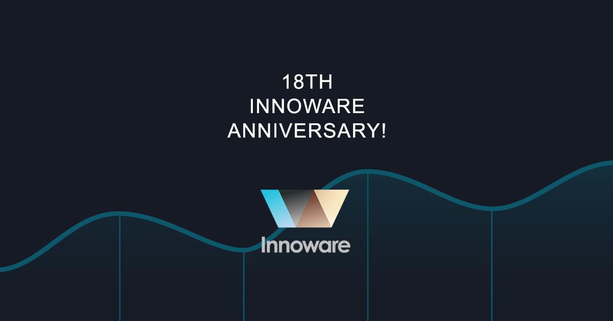 18th INNOWARE ANNIVERSARY!